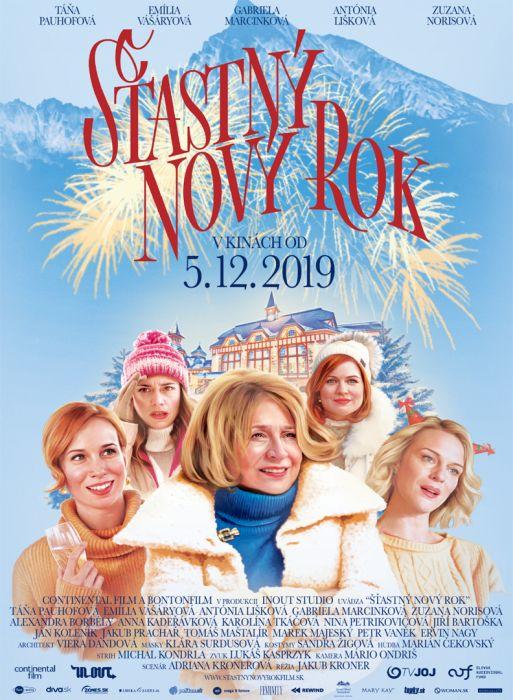 Tana Pauhofova, Antonia Liskova,Petr Vanek and Alexandra Borbely starring in new comedy Happy New Year