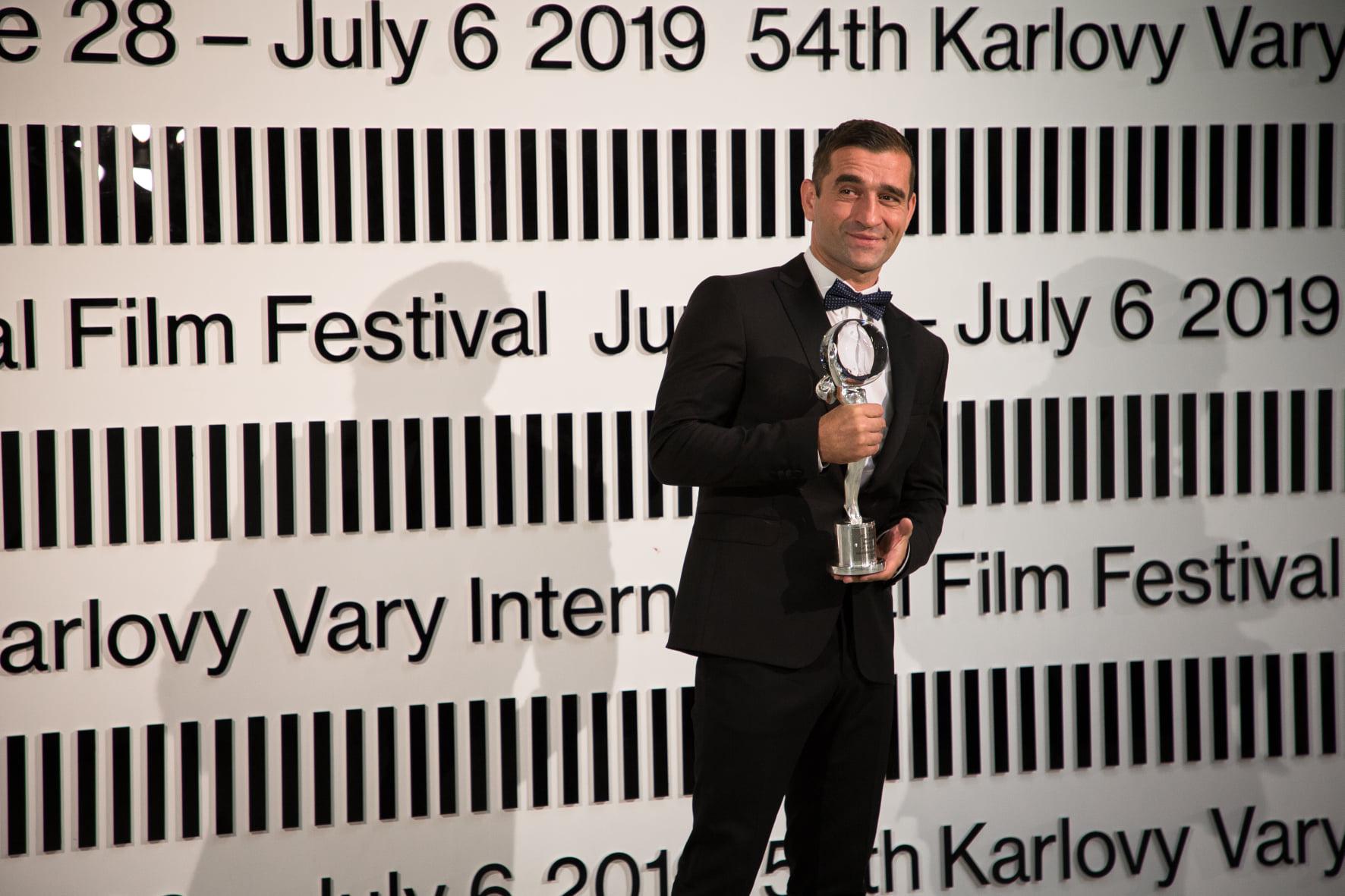 Milan Ondrík was granted the Best Actor Award
